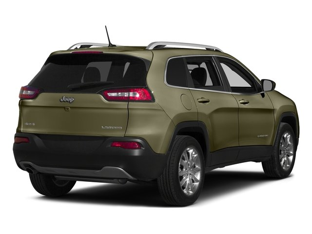 Eco Green Pearlcoat 2015 Jeep Cherokee Pictures Cherokee Utility 4D Latitude 2WD photos rear view