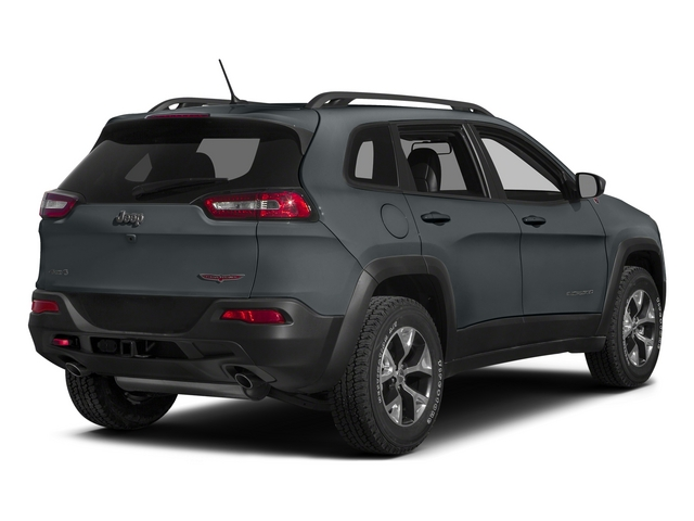 Anvil Clearcoat 2015 Jeep Cherokee Pictures Cherokee Utility 4D Trailhawk 4WD photos rear view