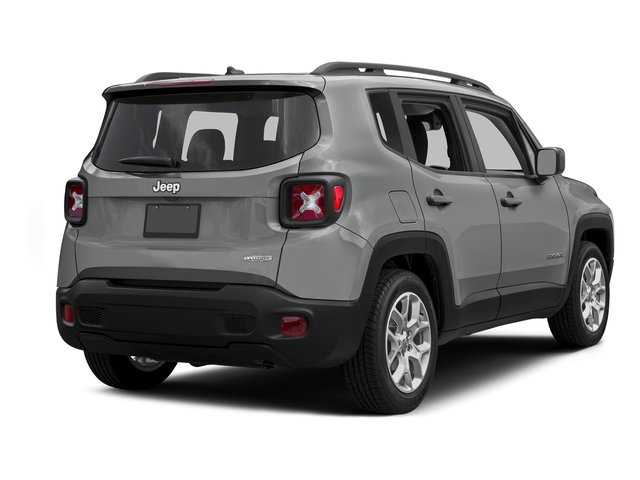 Glacier Metallic 2015 Jeep Renegade Pictures Renegade Utility 4D Latitude AWD I4 photos rear view