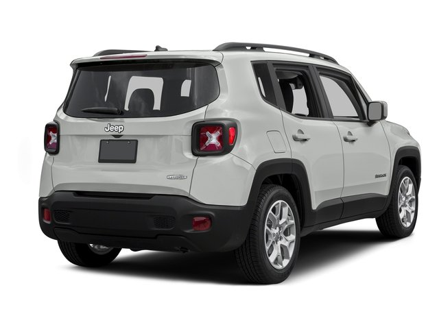 Alpine White 2015 Jeep Renegade Pictures Renegade Utility 4D Latitude AWD I4 photos rear view