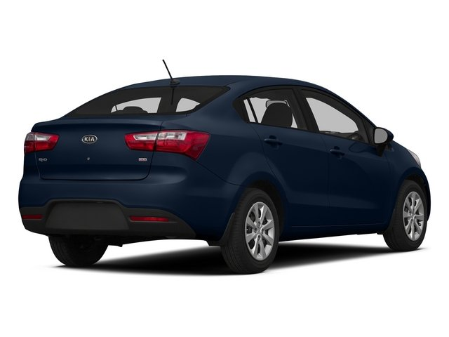 Midnight Sapphire 2015 Kia Rio Pictures Rio Sedan 4D EX I4 photos rear view