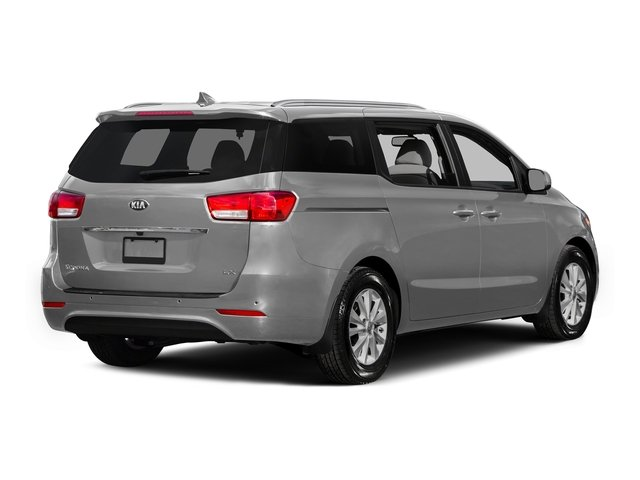 Bright Silver 2015 Kia Sedona Pictures Sedona Wagon LX V6 photos rear view