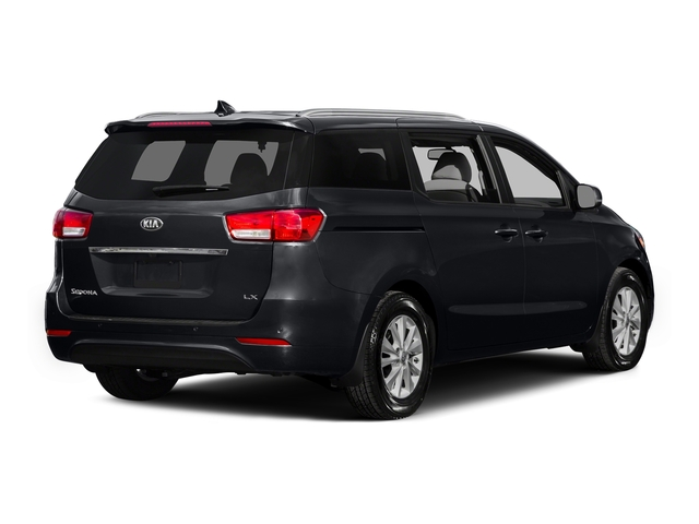 Aurora Black 2015 Kia Sedona Pictures Sedona Wagon LX V6 photos rear view