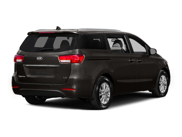 Titanium Brown 2015 Kia Sedona Pictures Sedona Wagon LX V6 photos rear view