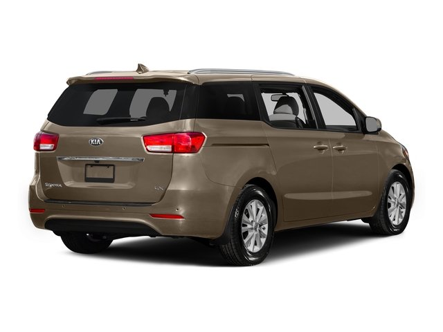 New Beige 2015 Kia Sedona Pictures Sedona Wagon LX V6 photos rear view