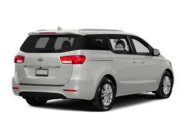 Solid White 2015 Kia Sedona Pictures Sedona Wagon LX V6 photos rear view