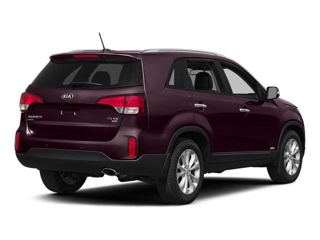 Dark Cherry 2015 Kia Sorento Pictures Sorento Utility 4D SX 2WD V6 photos rear view