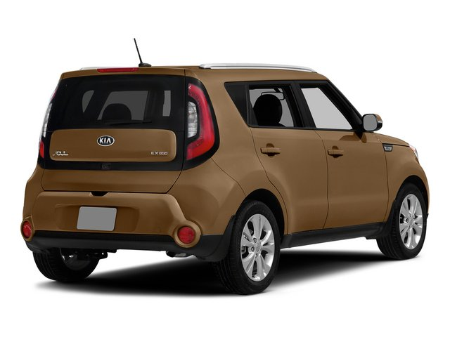 Latte Brown 2015 Kia Soul Pictures Soul Wagon 4D I4 photos rear view