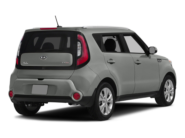 Titanium Gray 2015 Kia Soul Pictures Soul Wagon 4D I4 photos rear view