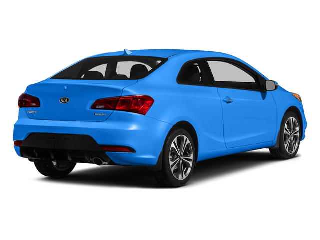 Abyss Blue 2015 Kia Forte Koup Pictures Forte Koup Coupe 2D EX I4 photos rear view