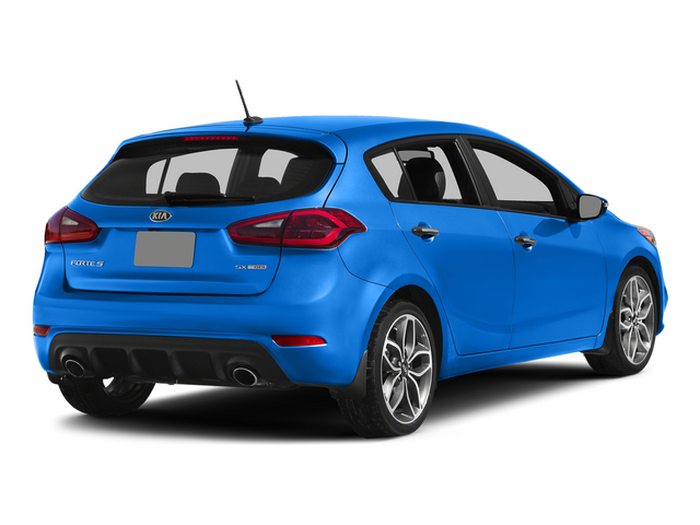Abyss Blue 2015 Kia Forte 5-Door Pictures Forte 5-Door Hatchback 5D EX I4 photos rear view