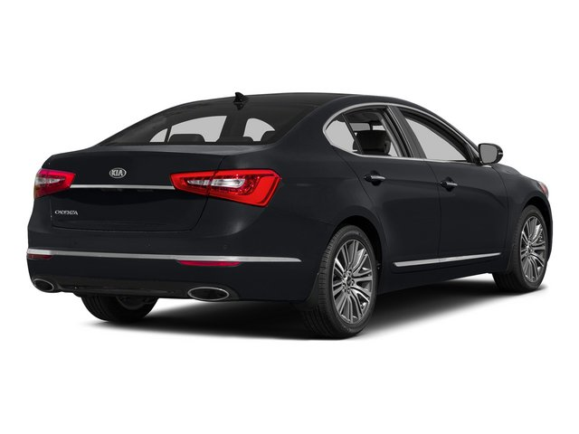 Aurora Black 2015 Kia Cadenza Pictures Cadenza Sedan 4D Premium V6 photos rear view