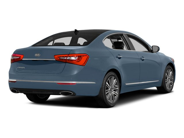 Smokey Blue 2015 Kia Cadenza Pictures Cadenza Sedan 4D Premium V6 photos rear view