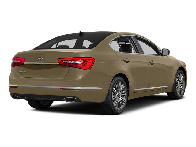Bronze Metallic 2015 Kia Cadenza Pictures Cadenza Sedan 4D Premium V6 photos rear view