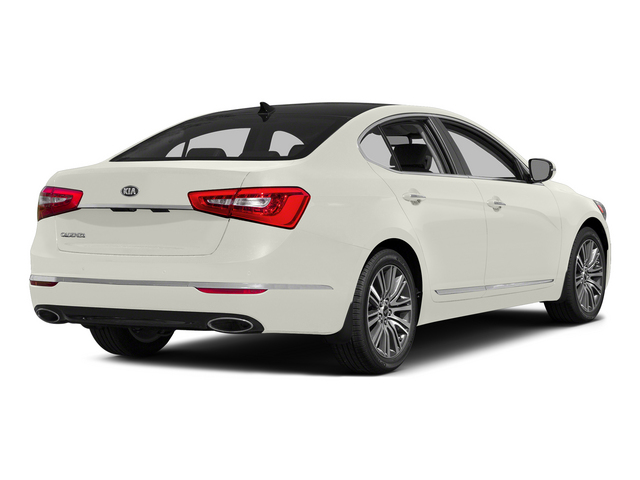 Snow White Pearl 2015 Kia Cadenza Pictures Cadenza Sedan 4D Limited V6 photos rear view