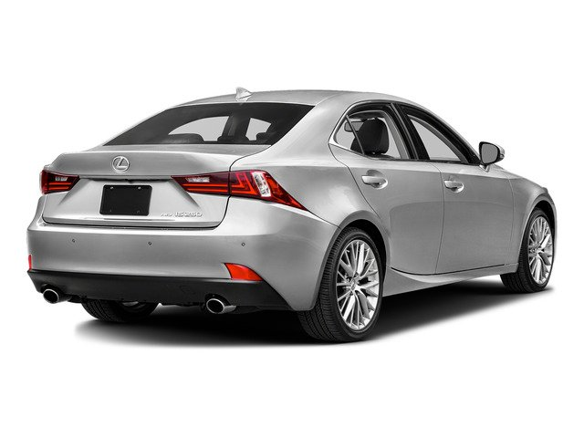Silver Lining Metallic 2015 Lexus IS 250 Pictures IS 250 Sedan 4D IS250 V6 photos rear view