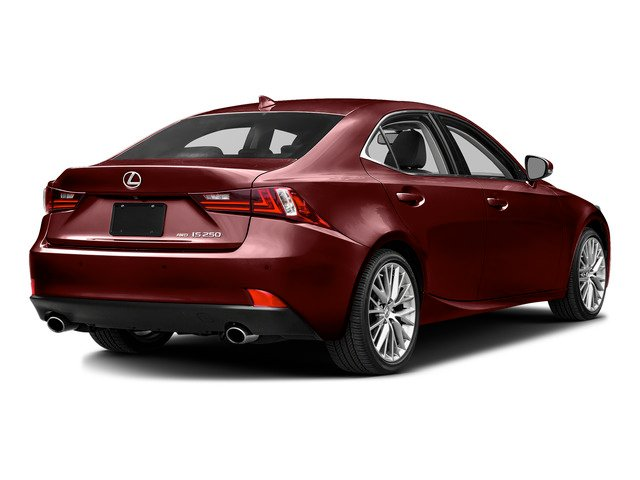 Matador Red Mica 2015 Lexus IS 250 Pictures IS 250 Sedan 4D IS250 V6 photos rear view