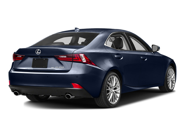 Deep Sea Mica 2015 Lexus IS 250 Pictures IS 250 Sedan 4D IS250 V6 photos rear view