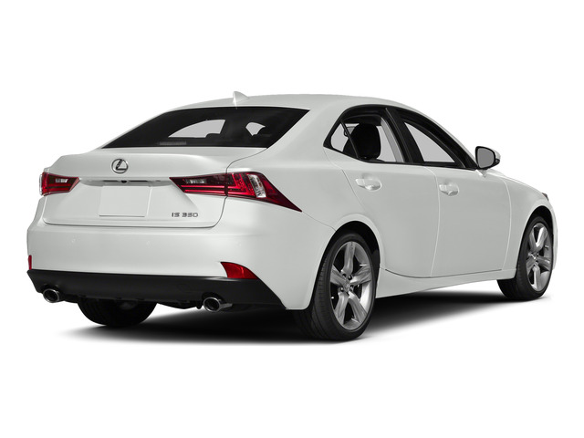 Starfire Pearl 2015 Lexus IS 350 Pictures IS 350 Sedan 4D IS350 V6 photos rear view