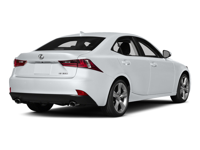 Ultra White 2015 Lexus IS 350 Pictures IS 350 Sedan 4D IS350 V6 photos rear view