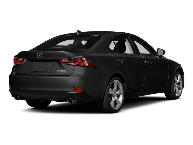 Obsidian 2015 Lexus IS 350 Pictures IS 350 Sedan 4D IS350 V6 photos rear view