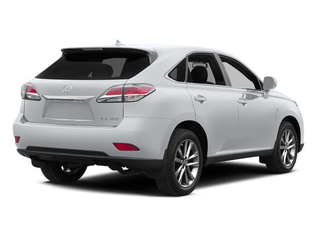 Ultra White 2015 Lexus RX 350 Pictures RX 350 Utility 4D AWD V6 photos rear view