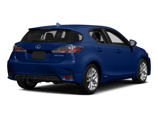 Ultrasonic Blue Mica w/Black Roof 2015 Lexus CT 200h Pictures CT 200h Hatchback 5D CT200h I4 Hybrid photos rear view