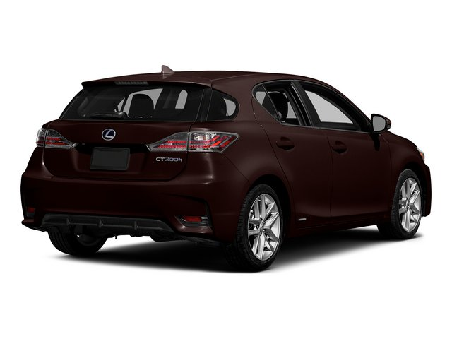Fire Agate Pearl 2015 Lexus CT 200h Pictures CT 200h Hatchback 5D CT200h I4 Hybrid photos rear view