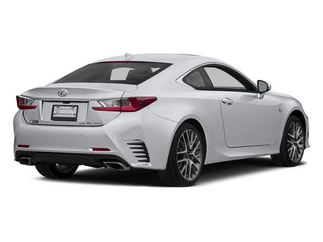 Ultra White 2015 Lexus RC 350 Pictures RC 350 Coupe 2D RC350 V6 photos rear view