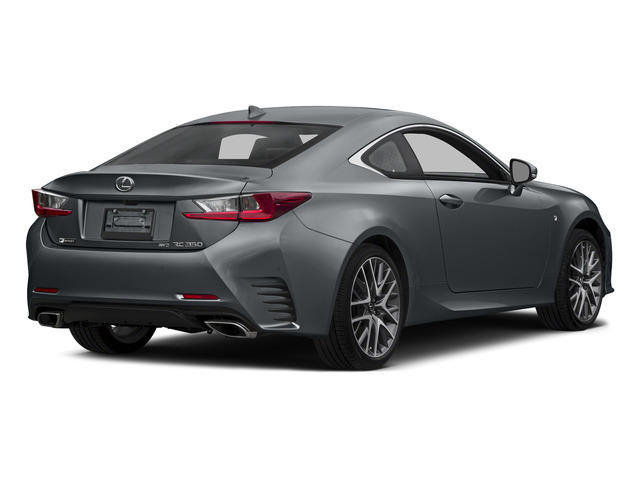 Nebula Gray Pearl 2015 Lexus RC 350 Pictures RC 350 Coupe 2D RC350 V6 photos rear view
