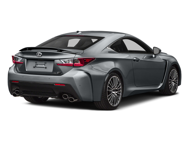 Nebula Gray Pearl 2015 Lexus RC F Pictures RC F Coupe 2D RC-F V8 photos rear view