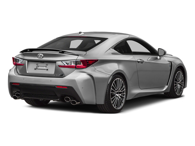 Liquid Platinum 2015 Lexus RC F Pictures RC F Coupe 2D RC-F V8 photos rear view
