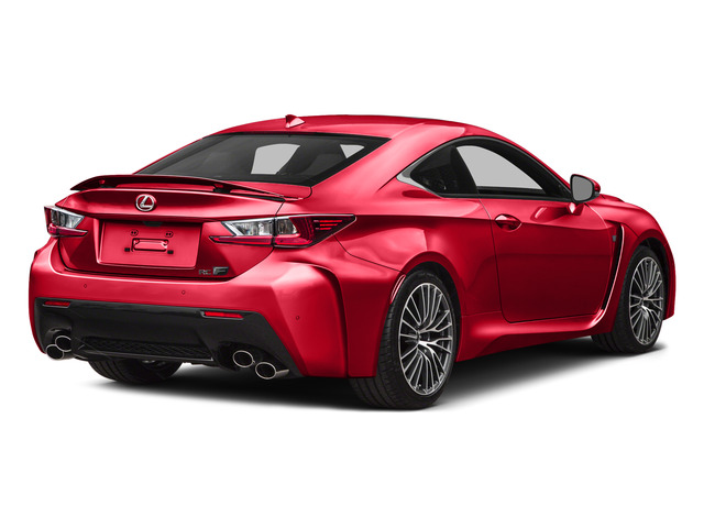 Infrared 2015 Lexus RC F Pictures RC F Coupe 2D RC-F V8 photos rear view