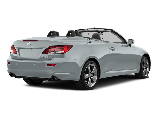 Silver Lining Metallic 2015 Lexus IS 350C Pictures IS 350C Convertible 2D IS350 V6 photos rear view