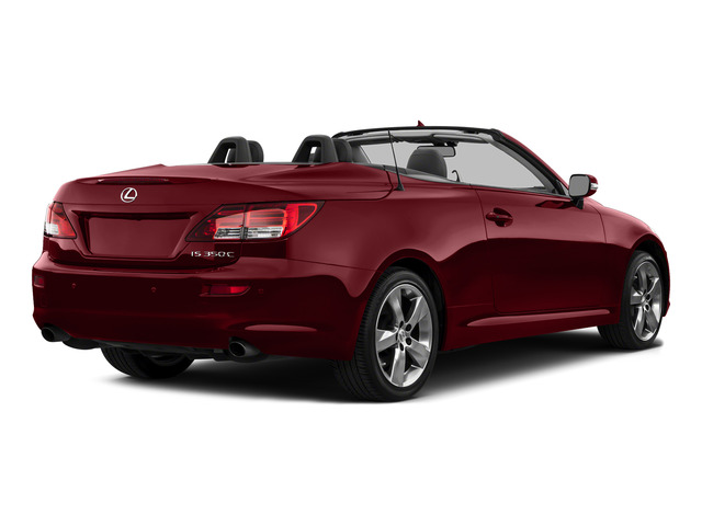 Matador Red Mica 2015 Lexus IS 350C Pictures IS 350C Convertible 2D IS350 V6 photos rear view