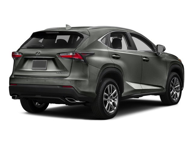 Atomic Silver 2015 Lexus NX 200t Pictures NX 200t Utility 4D NX200t 2WD I4 Turbo photos rear view