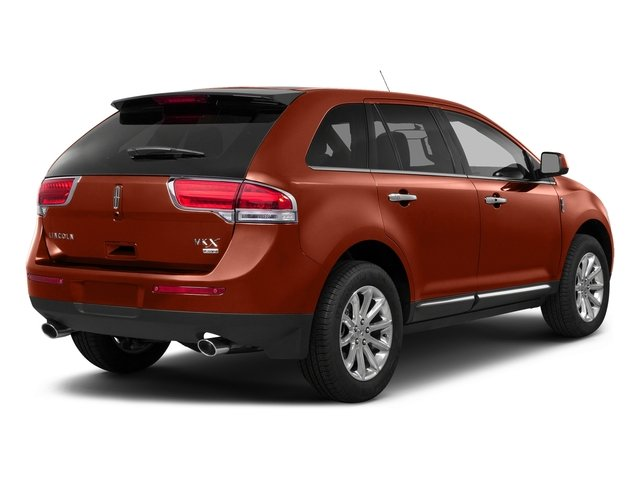 Sunset Metallic 2015 Lincoln MKX Pictures MKX Wagon 4D Elite AWD photos rear view