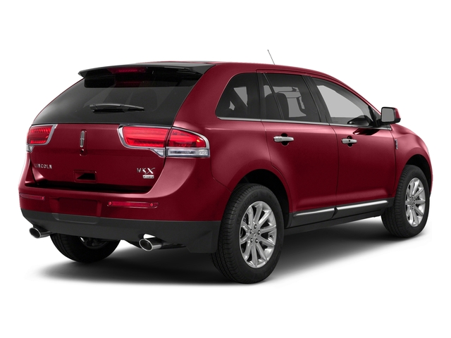 Ruby Red Metallic Tinted Clearcoat 2015 Lincoln MKX Pictures MKX Wagon 4D Elite AWD photos rear view