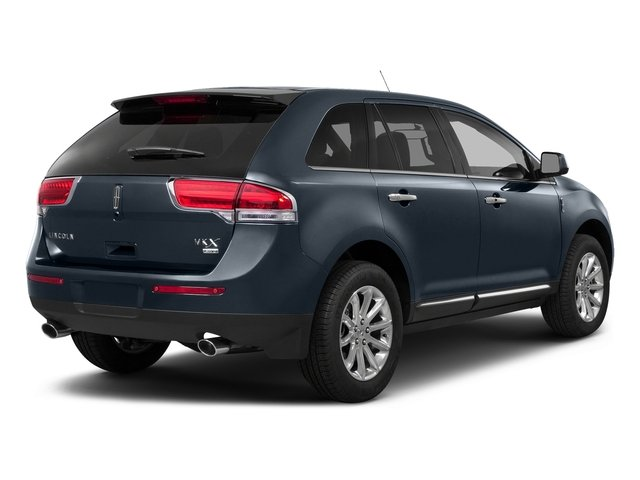 Smoked Quartz Metallic Tinted Clearcoat 2015 Lincoln MKX Pictures MKX Wagon 4D Elite AWD photos rear view