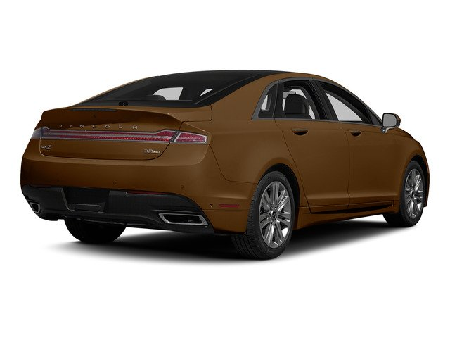 Bronze Fire Metallic Tinted Clearcoat 2015 Lincoln MKZ Pictures MKZ Sedan 4D V6 photos rear view