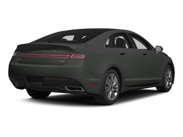 Magnetic Metallic 2015 Lincoln MKZ Pictures MKZ Sedan 4D V6 photos rear view