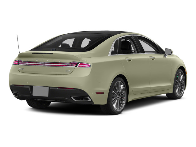 Platinum Dune Metallic Tri-Coat 2015 Lincoln MKZ Pictures MKZ Sedan 4D I4 Hybrid photos rear view