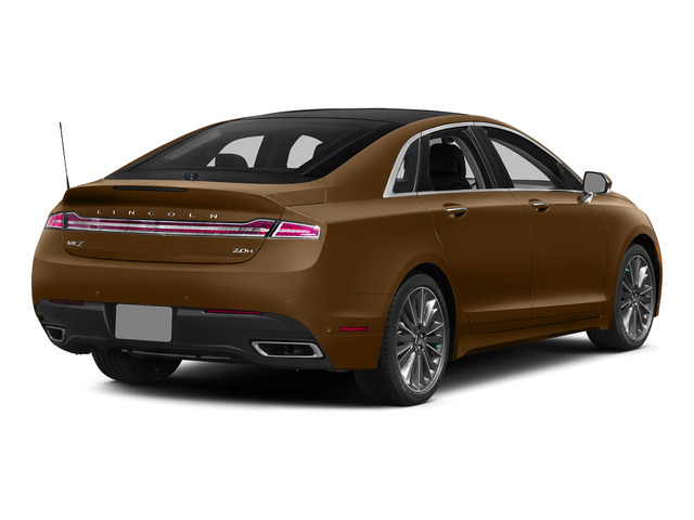 Bronze Fire Metallic Tinted Clearcoat 2015 Lincoln MKZ Pictures MKZ Sedan 4D I4 Hybrid photos rear view