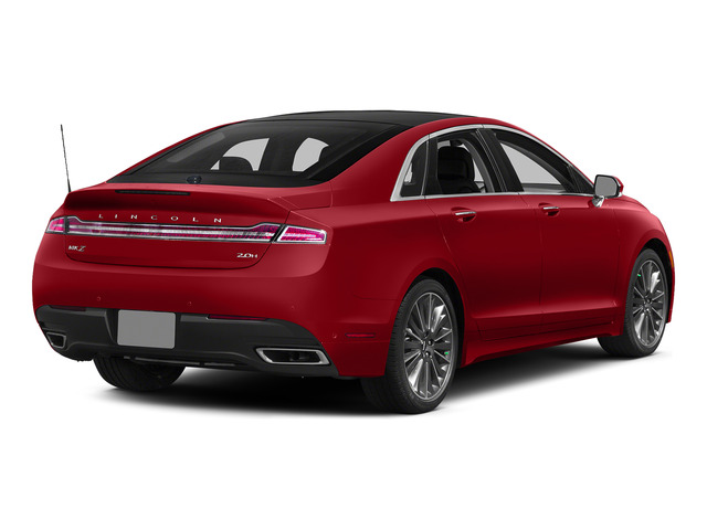 Ruby Red Metallic Tinted Clearcoat 2015 Lincoln MKZ Pictures MKZ Sedan 4D I4 Hybrid photos rear view