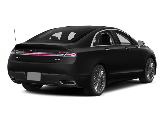 Tuxedo Black Metallic 2015 Lincoln MKZ Pictures MKZ Sedan 4D I4 Hybrid photos rear view