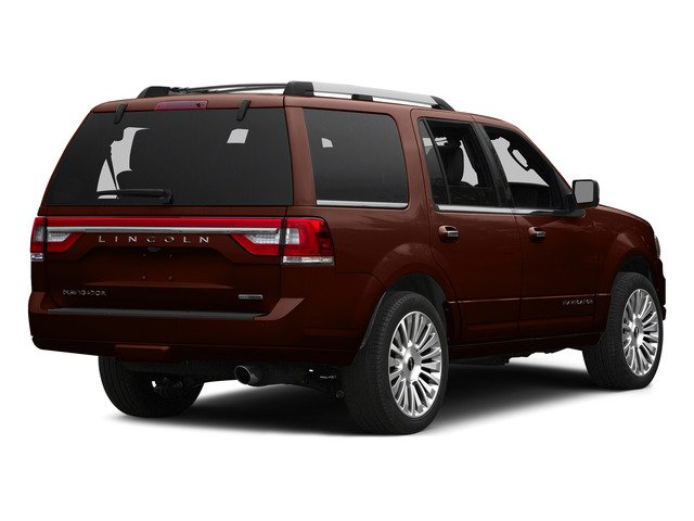 Java Metallic 2015 Lincoln Navigator Pictures Navigator Utility 4D Select 2WD V6 Turbo photos rear view