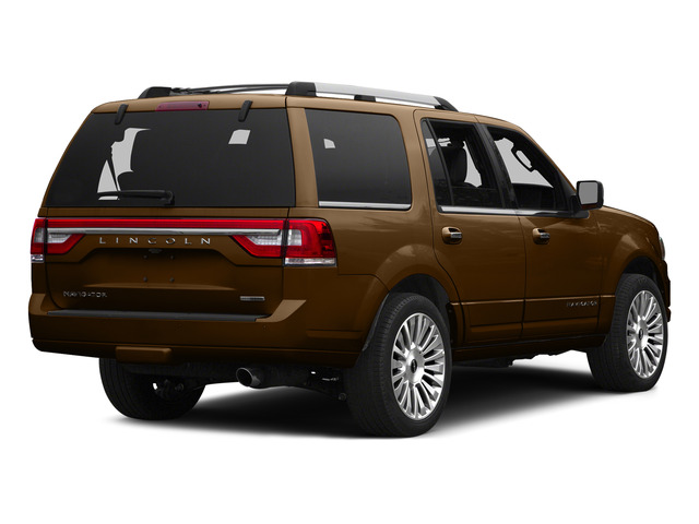 Bronze Fire Metallic 2015 Lincoln Navigator Pictures Navigator Utility 4D Select 2WD V6 Turbo photos rear view