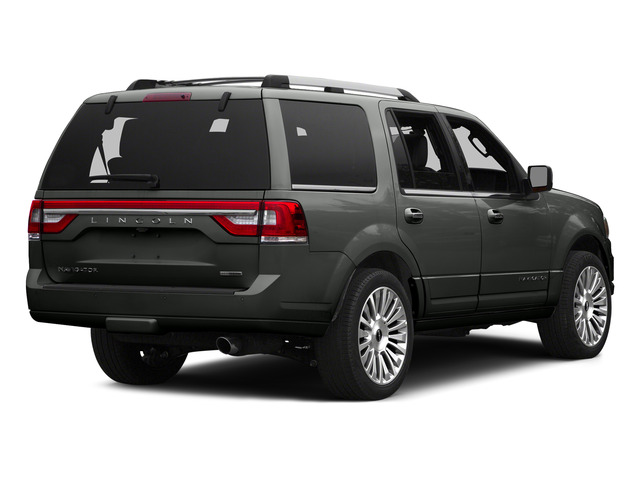 Magnetic Metallic 2015 Lincoln Navigator Pictures Navigator Utility 4D Select 2WD V6 Turbo photos rear view