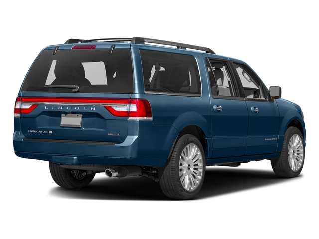 Midnight Sapphire Metallic 2015 Lincoln Navigator L Pictures Navigator L Utility 4D Select 2WD V6 Turbo photos rear view