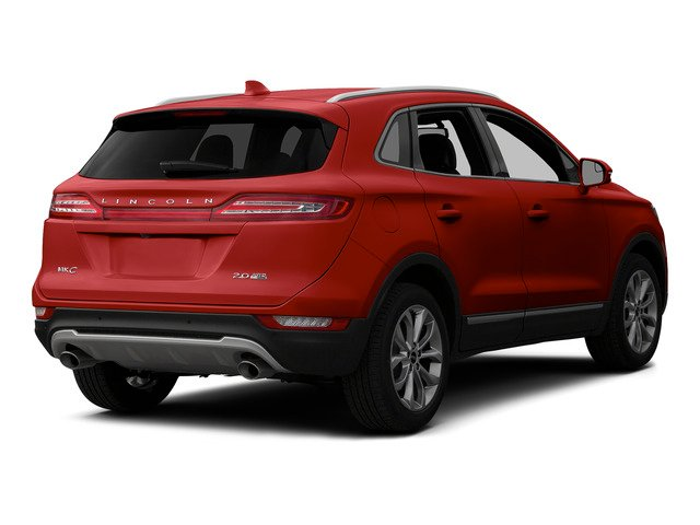 Ruby Red Metallic Tinted Clearcoat 2015 Lincoln MKC Pictures MKC Utility 4D Select AWD I4 Turbo photos rear view